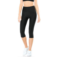 spanx active shaping compression knee pant