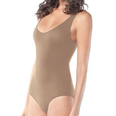 spanx undie-dectable tank bodysuit (nude)