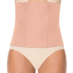 spanx bootsie-yay! comfy corset (rose gold)