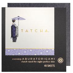 tatcha aburatorigami japanese beauty papers (evening)