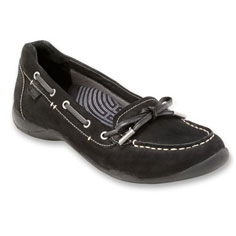 dr. weil footwear discovery casual flat (black)
