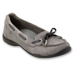 dr. weil discovery casual flat (pewter)