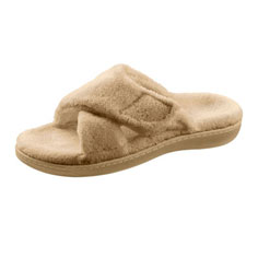 orthaheel relax slipper (tan)