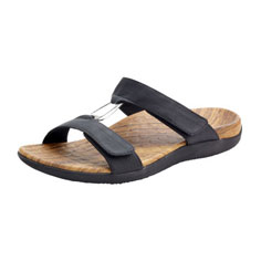 orthaheel layla sandal (black)