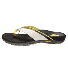 vionic by orthaheel cascade sandal (white)