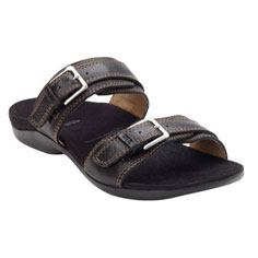 dr. weil integrative footwear mystic II sandal (black)