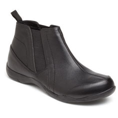 dr. weil integrative footwear wisdom boot (black)