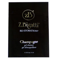 gift: z.bigatti re-storation champagne gel cleanser