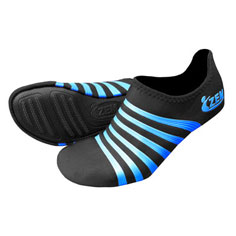 ZEMgear playa round toe low adult (black/blue)