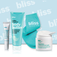 50% off select bliss favorites