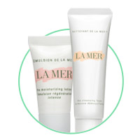 complimentary la mer gift with any la mer purchase