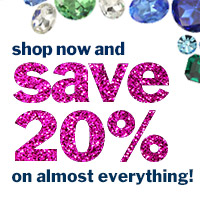 save 20% on almost everything