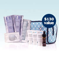 FREE anti-aging beauty bag!