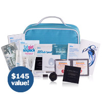 free april beauty bag offer
