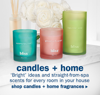 bliss scented candles