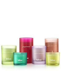 new bliss spa candles! plus hundreds of holiday gift ideas