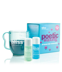 bliss microwaveable waxing kit