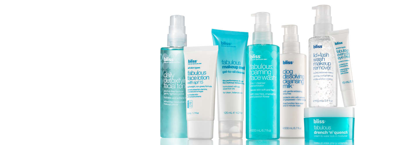 bliss fabulous skincare collection
