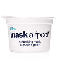 bliss mask a-'peel' rubberizing radiance mask
