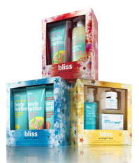 bliss holiday gift sets