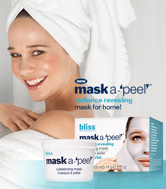 free rubberizing mask in spa!
