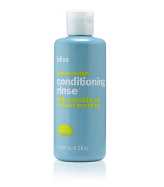 bliss lemon + sage conditioning rinse