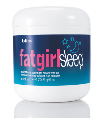 bliss fatgirlsleep® overnight skin firming cream