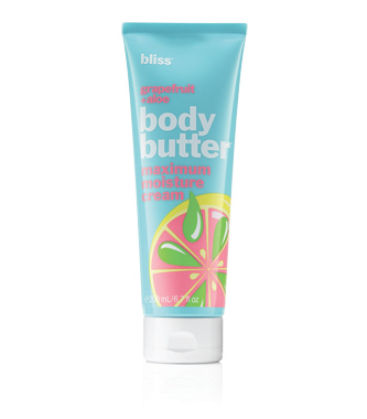 bliss grapefruit + aloe body butter