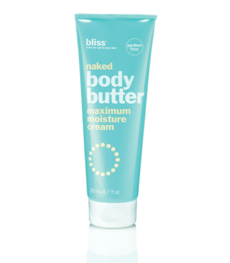bliss paraben free naked body butter