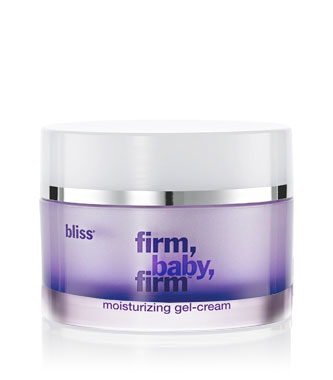 bliss firm, baby, firm moisturizing gel-cream