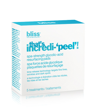 bliss that's incredi-'peel'! beauty to go