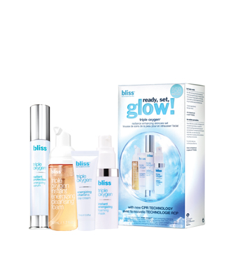 bliss triple oxygen ready, set, glow!