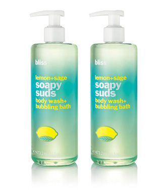 bliss lemon + sage soapy suds set of 2