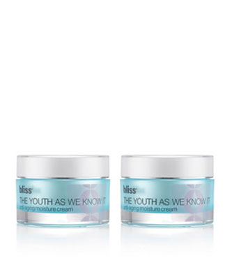 bliss the youth as we know it moisture cream set of 2