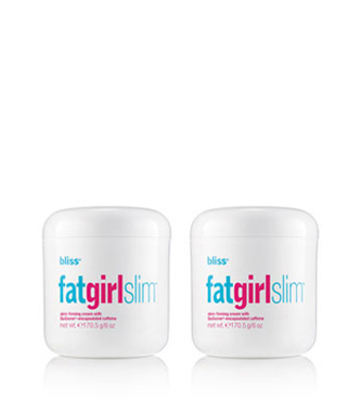 bliss fatgirlslim firming cream set of 2