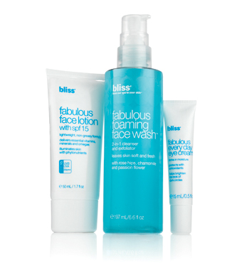 bliss fabulous face regimen