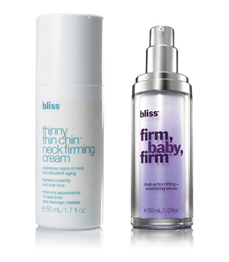 bliss 'firm action' face and neck treatment duo