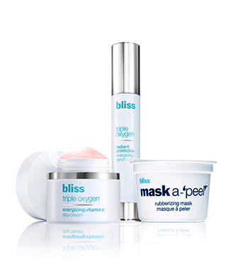 bliss 3 steps to radiance regimen