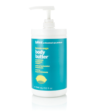 bliss lemon + sage body butter pro size
