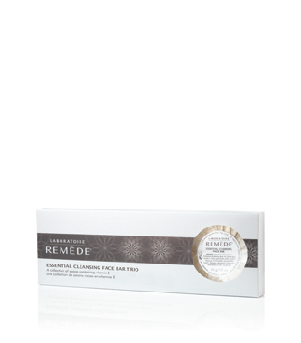 laboratoire remede essential cleansing face bar trio