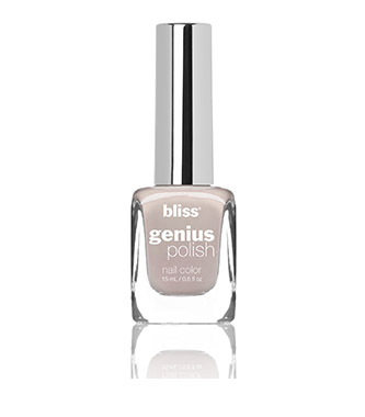 bliss genius nail polish (here today fawn tomorrow)