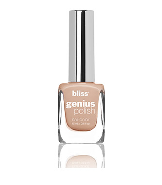 bliss genius nail polish (café ohhh lait)