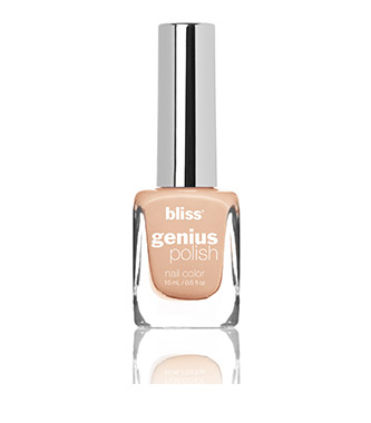 bliss genius nail polish (sweet nothings)