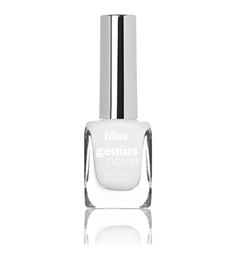 bliss genius nail polish (little white lie)
