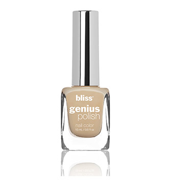 bliss genius nail polish (sand do attitude)