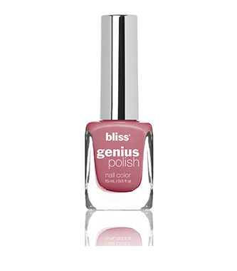 bliss genius nail polish (antique rose show)