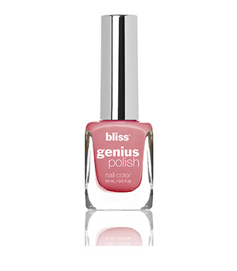 bliss genius nail polish (beat around the blush)