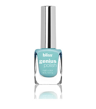 bliss genius nail polish (wheel and teal)