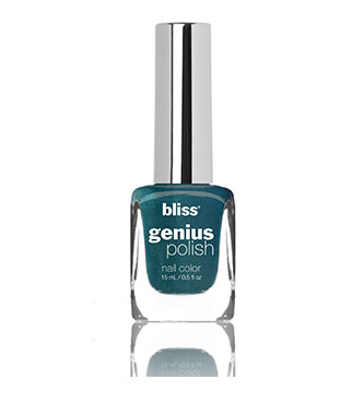 bliss genius nail polish (2 peacocks in a pod)
