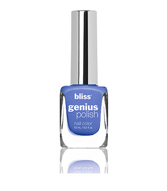 bliss genius nail polish (fade into the blue)